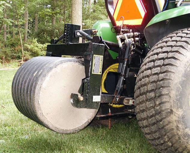 Tractor Concrete Ballast