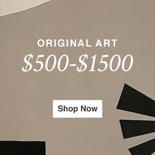 ORIGINAL ART $500-$1500