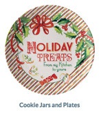Cookie Jars and Plates