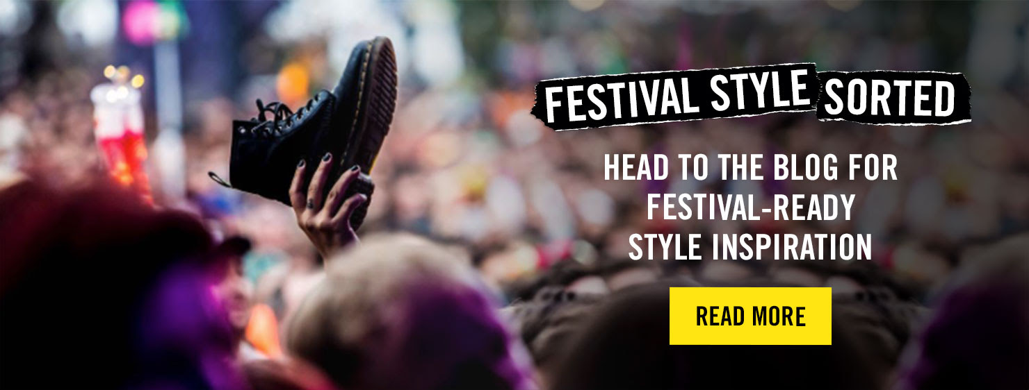 FESTIVAL STYLE SORTED - Head to the blog for festival-ready style inspiration - READ NOW