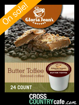 Butter Toffee Keurig K-cup coffee
