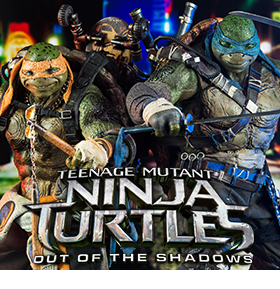 THREEZERO 1/6 SCALE TMNT OUT OF THE SHADOWS