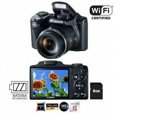 Câmera Digital Canon Powershot SX510 HS Preta