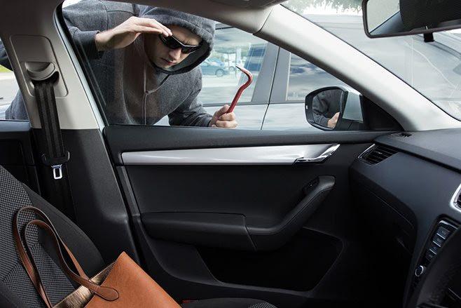 Opportunist car thief