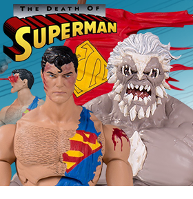 DEATH OF SUPERMAN FIGURE SET