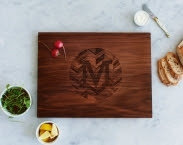 "12"" x 16"" Wedding Gift Anniversary Gift Personalized Hardwood Cutting Board by AHeirloom"