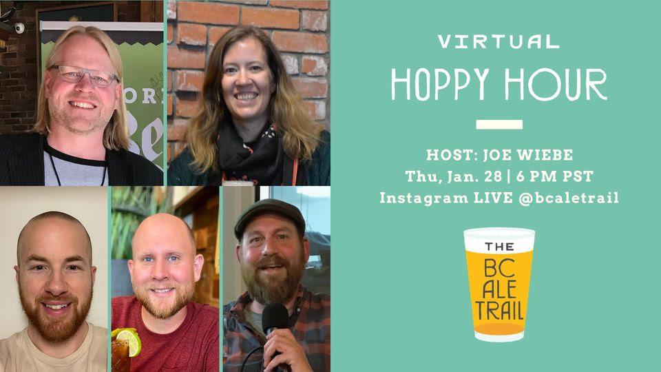 Virtual Hoppy Hour Jan 28, 2021