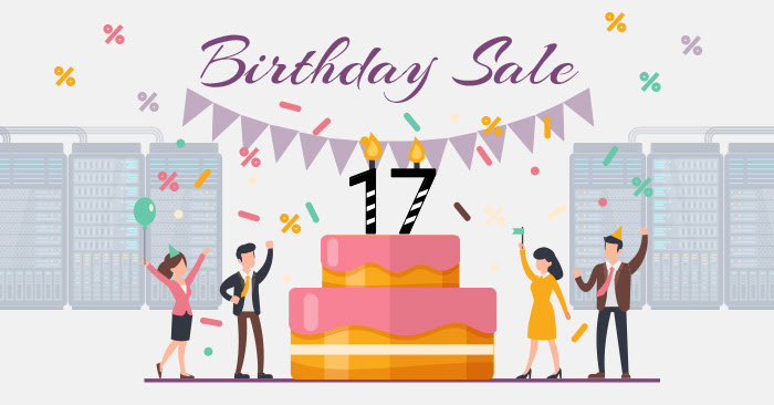 Birthday Sale across the Free and cPanel reseller programs