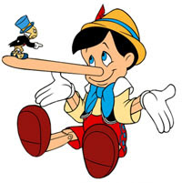 pinocchio a bad liar
