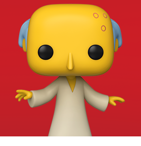 Pop! Animation: The Simpsons - Mr. Burns (Glowing) PX Previews Exclusive