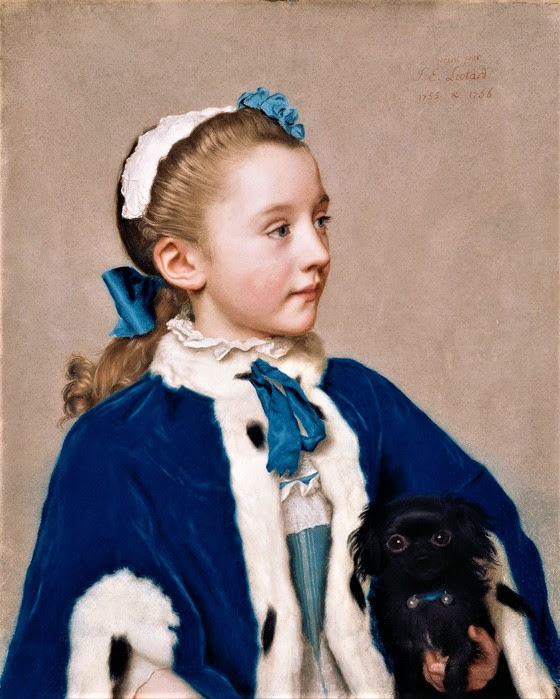 Мария  Фредерика  ван Реде-Атлон в семь лет       1755-1756       57.2 х 47    пергамент, пастель   Лос-Анджелес, музей Пола Гетти (560x700, 104Kb)