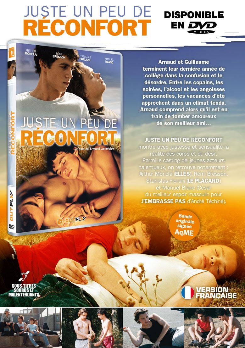 juste un peu de réconfort en DVD dans juste un peu de reconfort newsletter-jupdr2