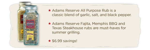 Adams Reserve All Purpose Rub
