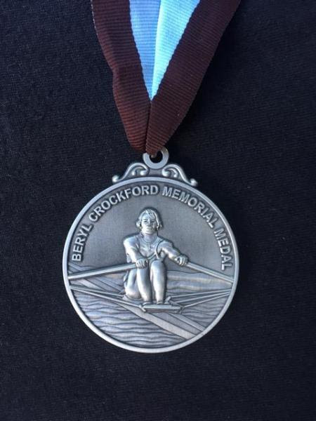 beryl crockford medal, british rowing, sydney high school rowing,