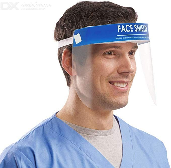 DX.com - Transparent Face Shield - Free Shipping - $2.99 (in stock)