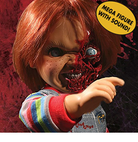 CHILD'S PLAY 3 PIZZA FACE CHUCKY