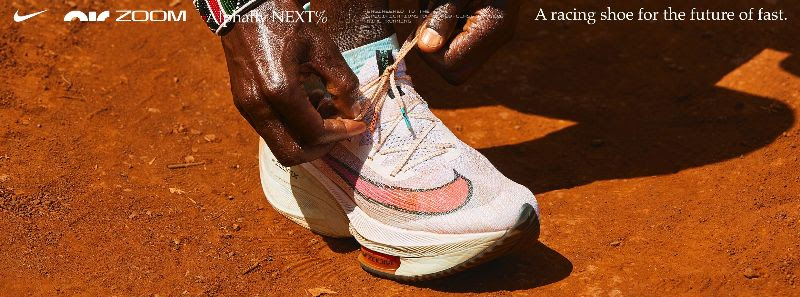 The Nike Air Zoom Alphafly NEXT%.