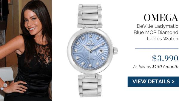DeVille Ladymatic Blue MOP Diamond