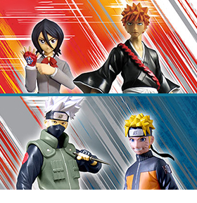 NARUTO & BLEACH VIZ COLLECTION SERIES