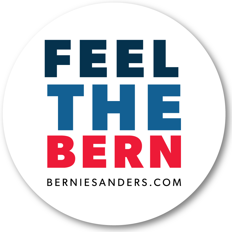 Image of Feel the Bernie sticker