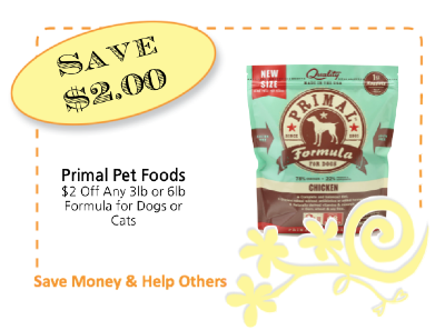 Primal Pet Foods CommonKindness coupon