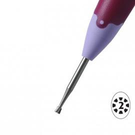 Pergamano outil à embosser étoile 2mm 10022