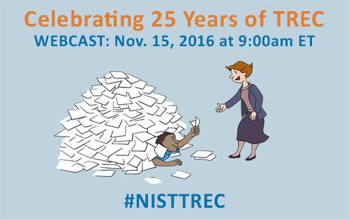 TREC 25th Anniversary Webcast