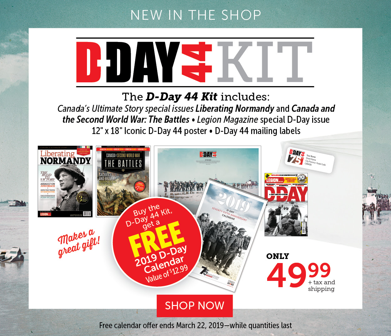 D-DAY Kit| NEW IN SHOP
