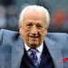 Ralph Kiner, who died Thursday at 91, was part of the Mets' first broadcast team in 1962. He was cheered at a 2011 game.