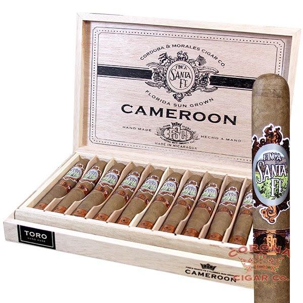 Image of Cordoba & Morales Finca Santa Fe FSG Cameroon Cigars
