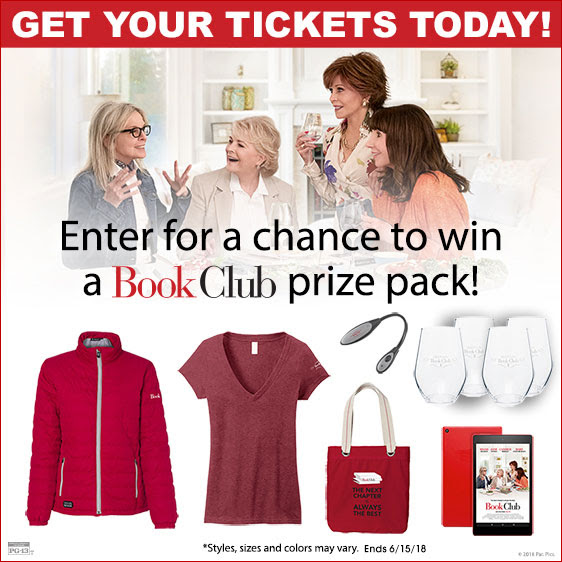 Enter the BOOK CLUB Giveaway!