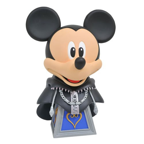 Image of Kingdom Hearts Legends in 3D Organization XIII Mickey 1:2 Scale Bust - FEBRUARY 2021