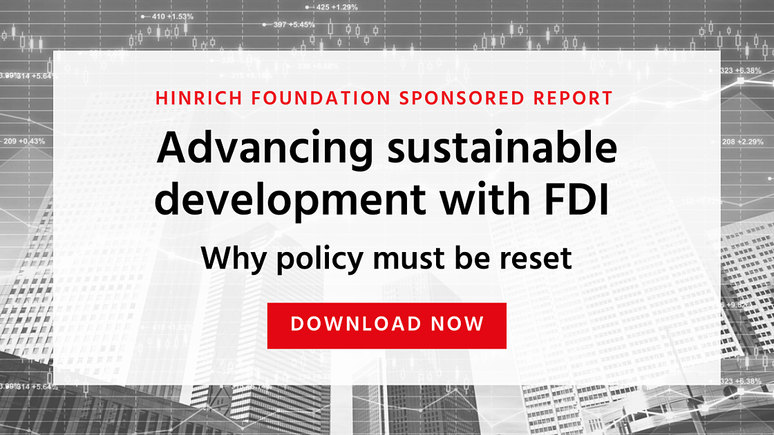 Advancing sustainable development with FDI-1