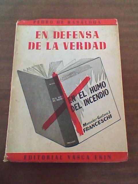 """Resultado de imagen para Editorial Vasca Ekin+""""En defensa de la Verdad"""""""