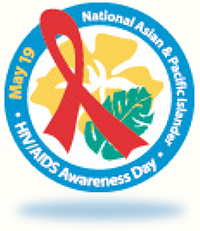Logo for National Asian & Pacific Islander HIV/AIDS Awareness Day, May 19, 2016