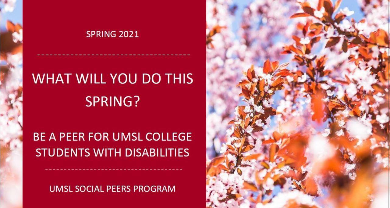 UMSL Social Peers Program