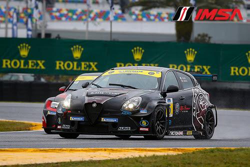 #5 KMW Motorsports with TMR Engineering Alfa Romeo Giulietta TCR, TCR: Roy Block, Tim Lewis Jr.