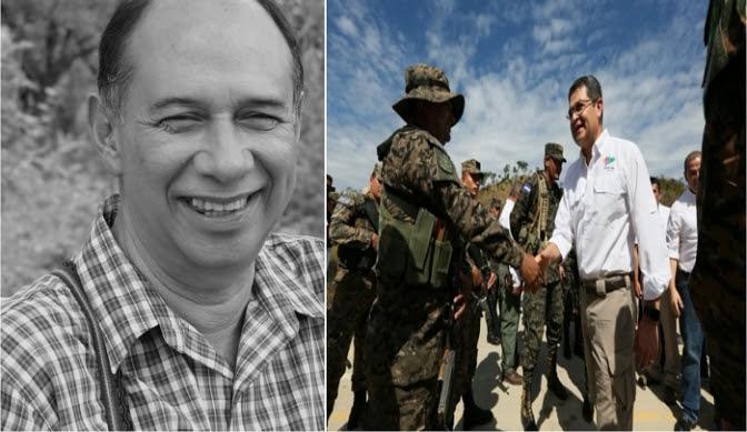 Tomás Andino: Las Fuerzas Armadas están llevando a cabo un golpe militar en cámara lenta en Honduras