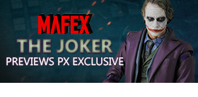 DARK KNIGHT THE JOKER MAFEX PX EXCLUSIVE