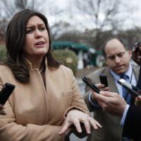 Sarah Sanders confesses Kim Jong-Un