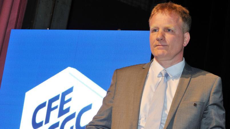 François Hommeril, nouveau président de la CFE-CGC