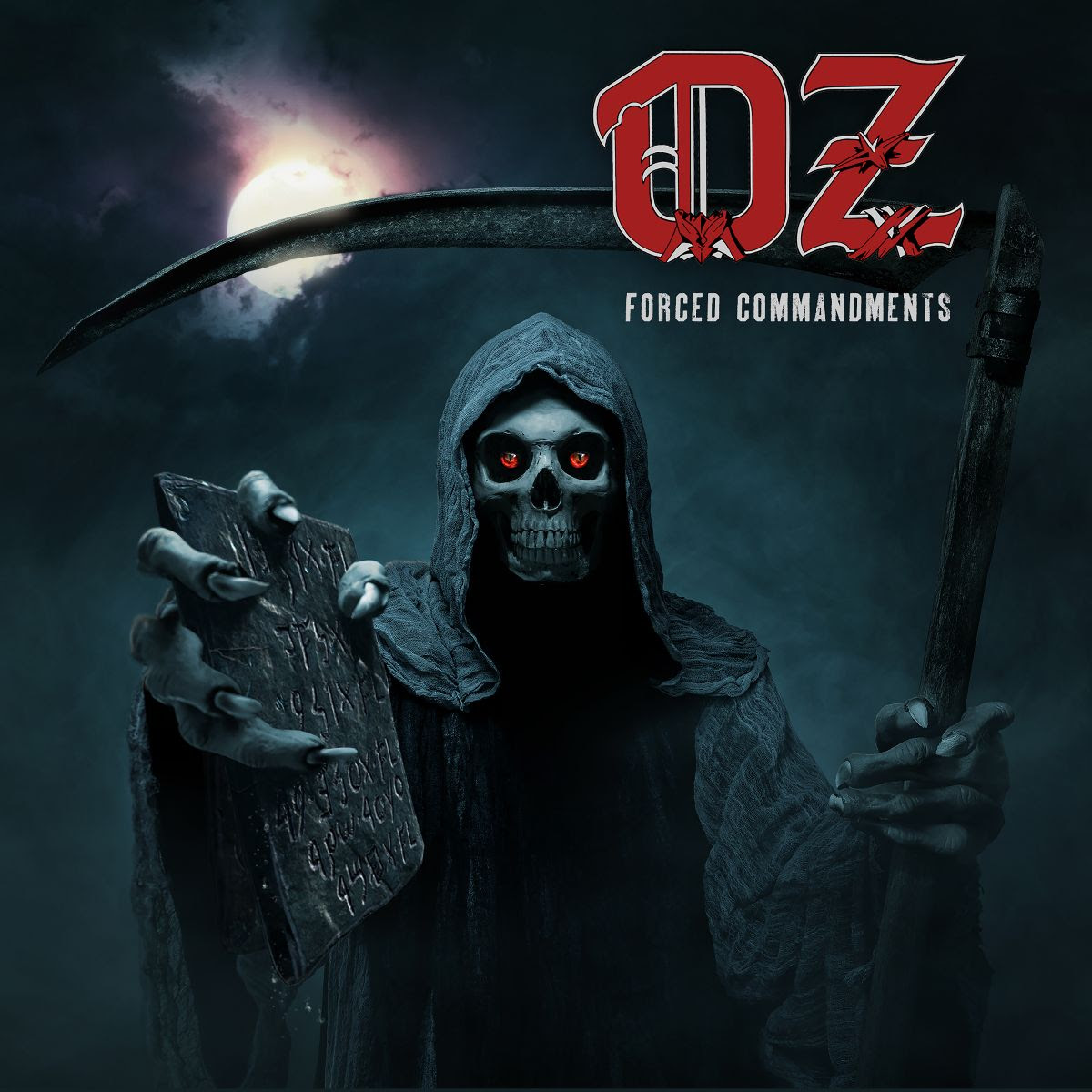 OZ - Forced Commandments - Frontcover