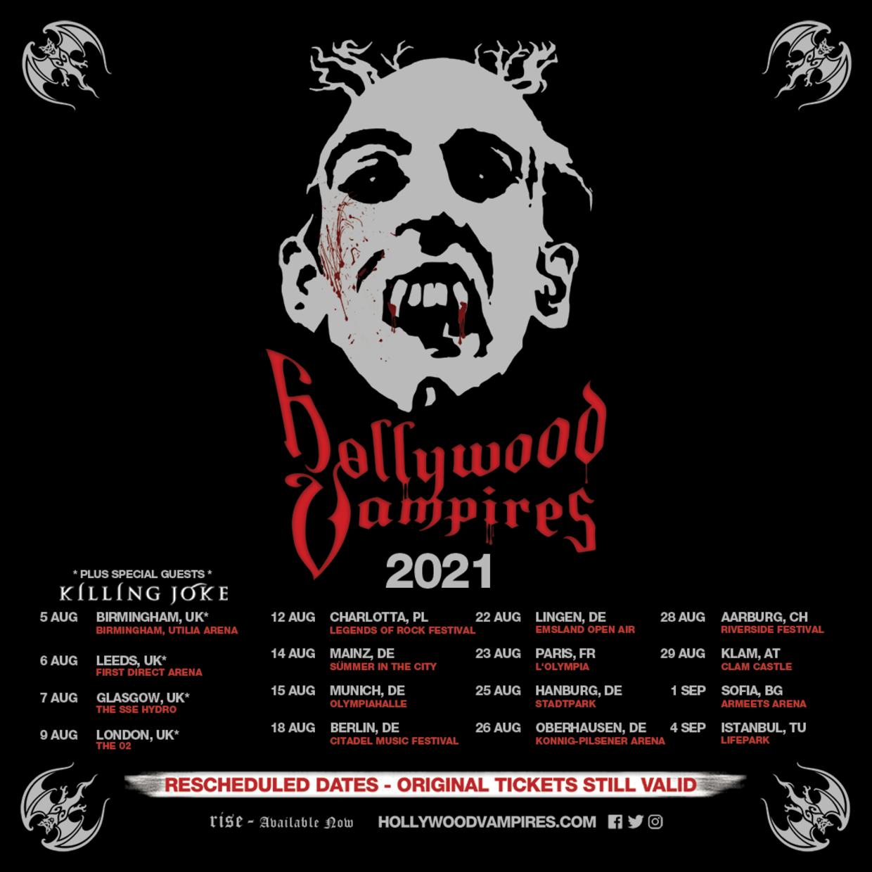 2021 Rescheduled European Tour Dates