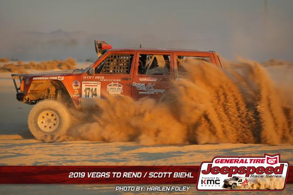 Scott Biehl, Jeepspeed, General Tire, KMC Wheels