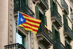 Senyera Estelada (Brian Aslak) Tags: europe flag catalonia bandera catalunya independence catalua catalan drapeau senyera estelada separatist lippu
