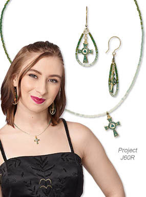 Single-Strand Necklace and Earring Set (Project J60R)