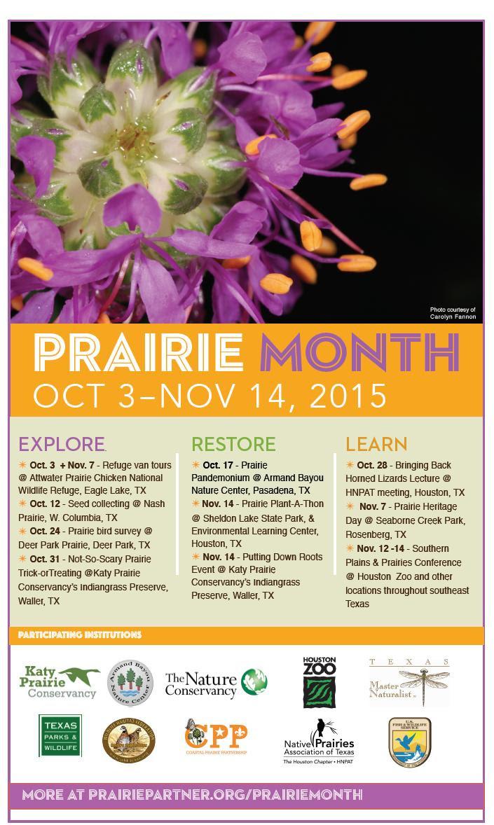 Prairie Month