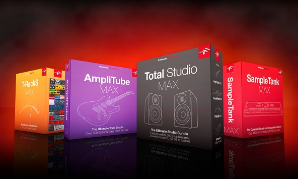 IK Multimedia's MAX bundles are now available
