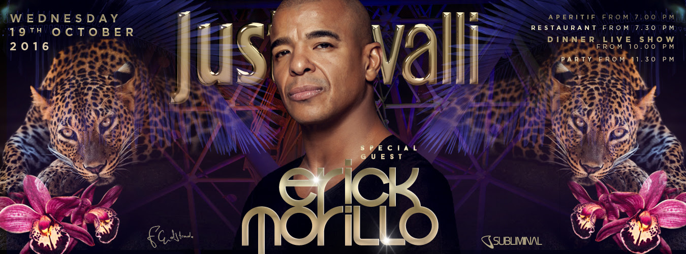 Erick Morillo & Halloween Night in Just Cavalli Milano