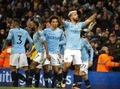 Con goles de Agüero y Sané, el City recorta cuatro puntos en la tabla de clasificación.